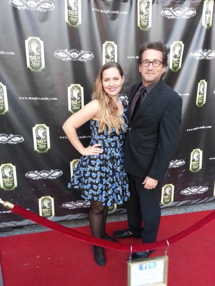 At The Magic Castle last night
