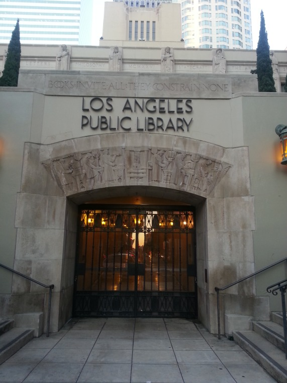 The Los Angeles Public Library. Happy place.
