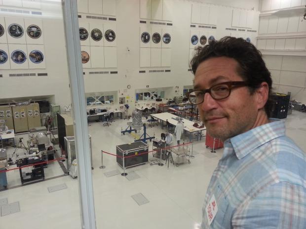 Brad and I touring the NASA Jet Propulsion Lab. Happy happy.