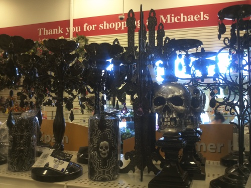 Michael's (especially at Halloween). Happy place.