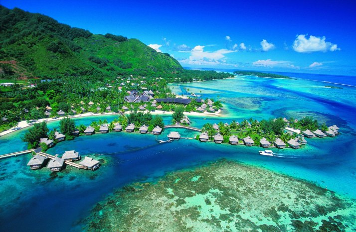 And of course, Tahiti. I have a feeling that's going to be one helluva happy place.