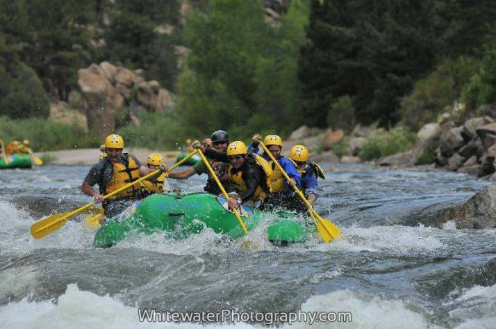 My first experience whitewater rafting. I'm hooked.