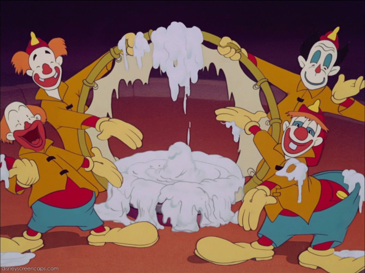 Creepy circus clowns anyone?