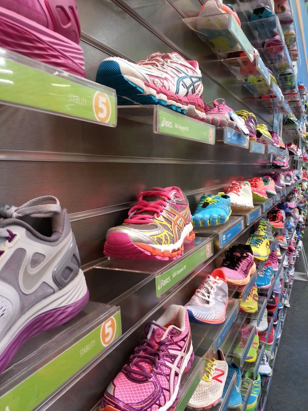 I want all the shoes