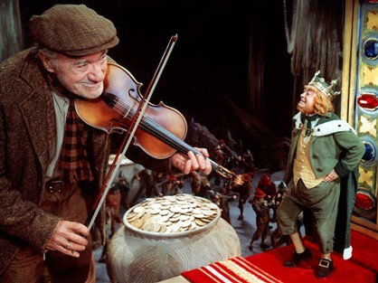 Fiddle? Check. Pot of gold? Check. Tiny King Leprechaun? Check.