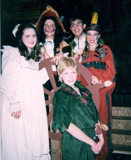 Wendy in Peter Pan, age 13