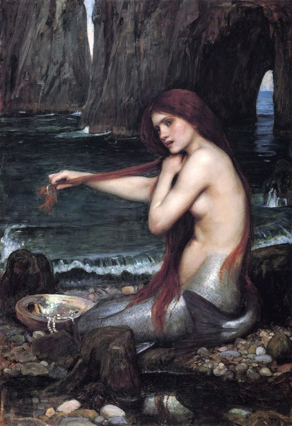 Waterhouse_a_mermaid