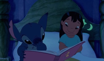 Stitch-and-Lilo-reading-